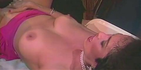 Brunette babe stuffed by black dick in the ass