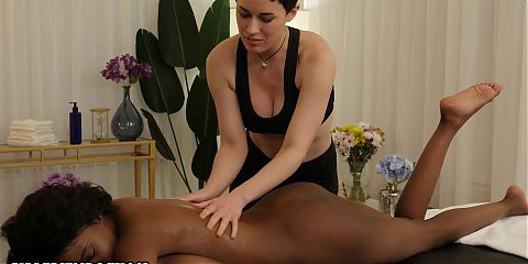 Busty Masseuse Taught How To Give Happy Ending Massage
